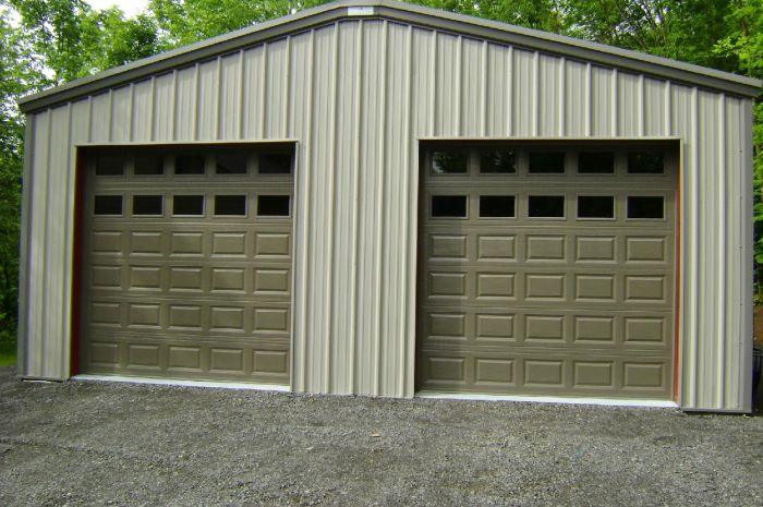 shed with garage